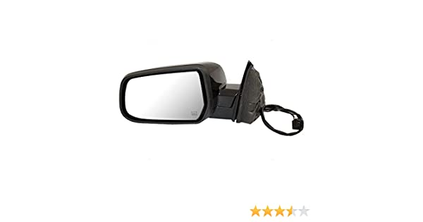 Fit System Replacement Mirrors Textured Black with Paint-to-Match Cover 7...