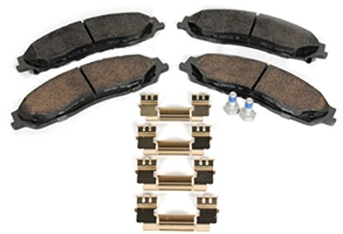 ACDelco 171-1093 GM Original Equipment Front Disc Brake Pad Kit with Brake Pads and Clips