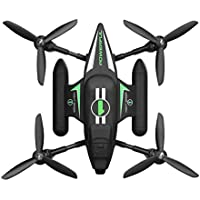 Owill WLtoys Q353 Triphibian 2.4G 6-Axis Air-Ground-Water RC Quadcopter (Black)