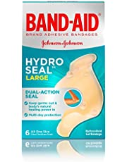 Band-Aid Brand Hydro Seal Waterproof All Purpose Adhesive Bandages for Wound Care or Blisters