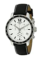 Tissot Men's T0954171603700 Quickster Analog Display Swiss Quartz Black Watch