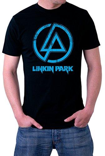 Linkin Park Distressed Logo Men's (Distressed Logo T-shirt)