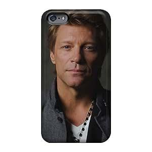 High Quality Hard Phone Case For Iphone 6 (qiR2577UCwQ) Custom Attractive Bon Jovi Band Image