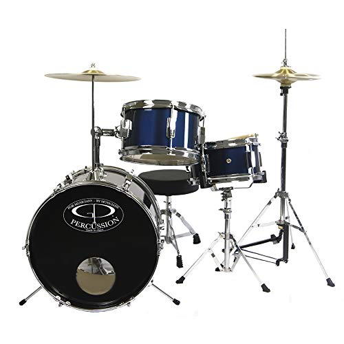 7. GP Percussion GP50MRB Complete Drum Set