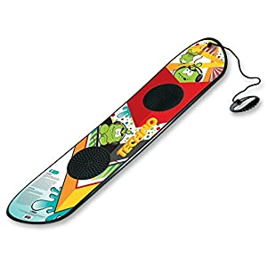 Beginner's 95cm Snowboard with Rope Handle and Foot Grips