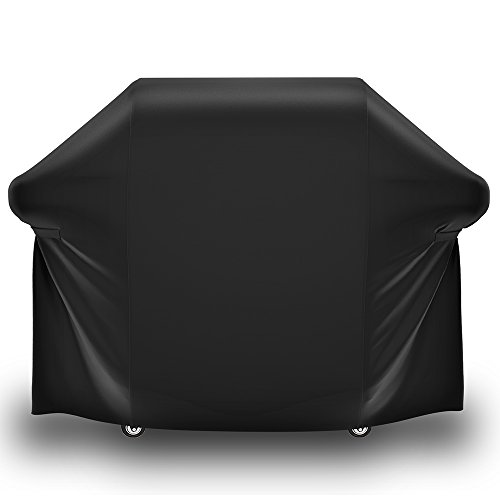 SHINESTAR 44in x 60in Gas Grill Cover for Weber Genesis E and S Series Gas Grill- E-310, E-330, EP-310, EP-330, S-310, S-330, Genesis II E-310, Heavy Duty Waterproof 600D Oxford Fabric