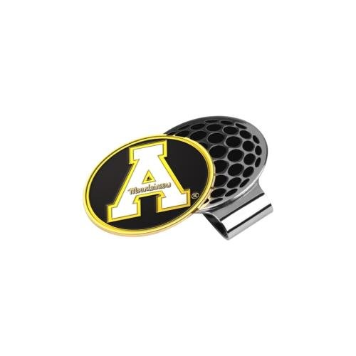 LinksWalker NCAA Appalachian State Mountaineers Golf Hat Clip with Ball Marker Appalachian State Mountaineers Golf