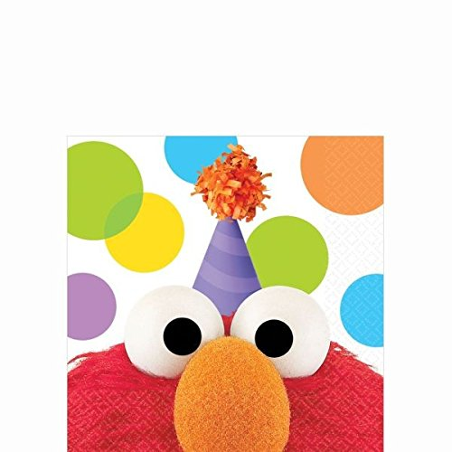 Beverage Napkin | Elmo Collection | Party Accessory