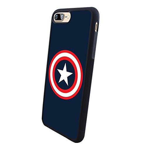 iPhone 7 Plus case, iPhone 7 Plus cover, Customized Captain America TPU Stand Case for iPhone 7 Plus