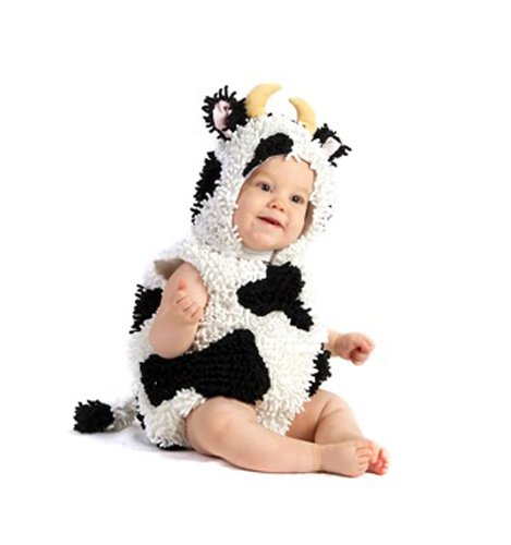Cow Newborn Costumes (Baby Cow Infant Toddler Halloween Costume sz sz 18M-2T)