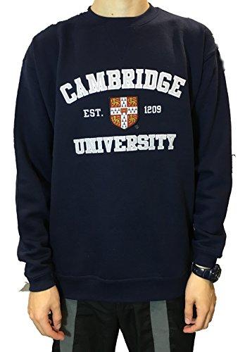 University Applique (Official Cambridge University Applique Sweatshirt - Official Apparel of the Famous Univeristy of Cambridge)