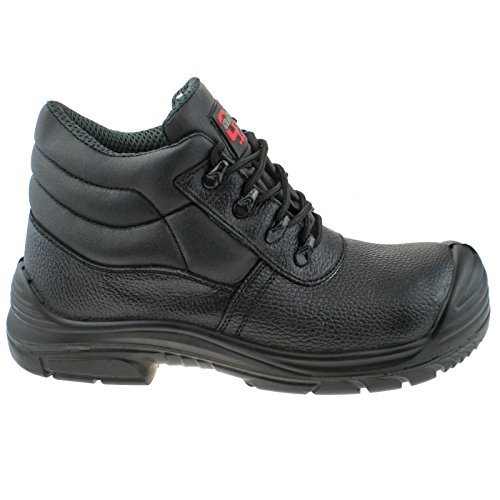 SAFETY 5 KD UK SUPER 10 CHUKKA LEATHER GRAFTERS EEEE EU WIDE 45 WATERPROOF BOOTS M9548AZ qZn7xISw
