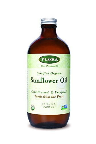 Sunflower Oil certified organic 17 oz by FLORA