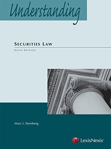 Understanding Securities Law (2014)