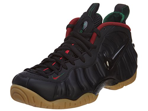 Nike Men's Air Foamposite Pro Basketball Shoes Black / Red / Green / Yellow (Black / Gym Grn Rd-gk-mtllc Gld-) 174QIjAyti