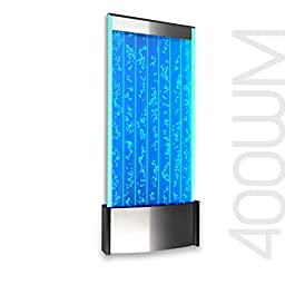 Wall Mount LED Bubble Wall Panel Indoor Fountain Water Feature 45\