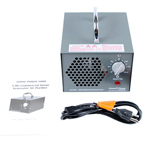 Ozone Power OP5000 Commercial Air Ozone Generator 5000mg & Air Purifier    Natural Odor Remover   5 Year Warranty