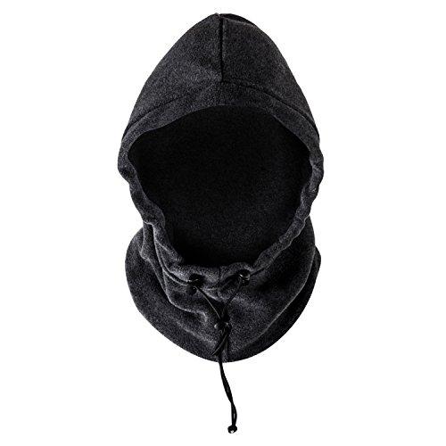 Heat Logic Men's Balaclava Fleece (Grey Fleece, One Size)