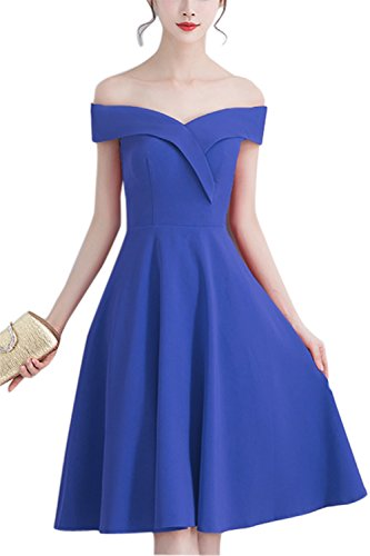 Blue Closure Dress Corset Calf Women Duraplast Length Satin Evening s Royal Cvppgq