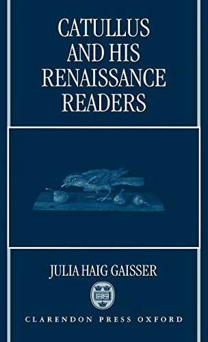 Catullus and His Renaissance Readers