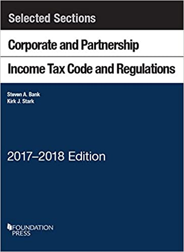 Amazon com: Selected Sections Corporate and Partnership Income Tax