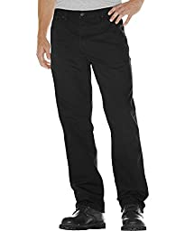 Dickies Men\'s Relaxed Fit Duck Carpenter Jeans Black 42W x 30L