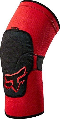 Fox Racing Launch Enduro Adult Knee/Shin Guard MX Motorcycle Body Armor - Red/X-Large
