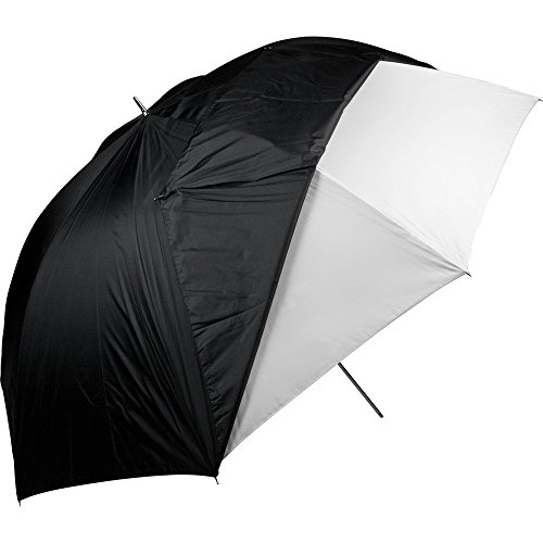 (Westcott 2021 60-Inch Optical White Satin with Removable Black Cover Umbrella)
