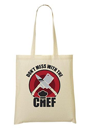 Don'T Mess A Chef Sac Fourre-Tout Sac À Provisions