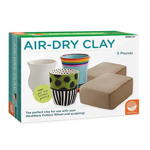 MindWare Pottery Wheel's Air-Dry
