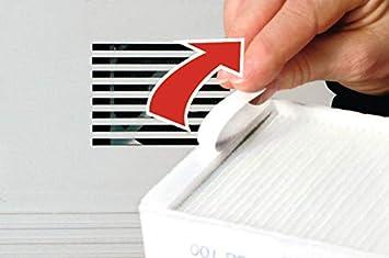 per stampanti laser Tesa 2/× Gr/ö/ße L filtro per polveri sottili