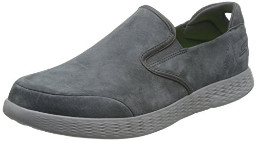 Skechers Mens On-The-Go Glide-Lusso Loafer Charcoal