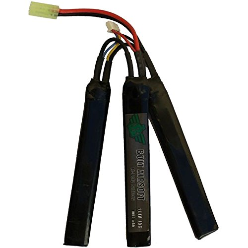 BATTERIE LIPO 11.1V 1000 MAH 15C 3 ELEMENTS BOLT