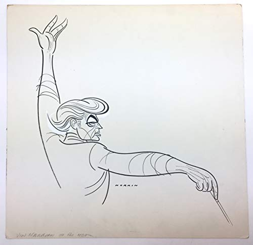 [Karajan, Herbert von. (1908?1989)] Norkin, Sam. (1917?2011): Original Caricature Drawing