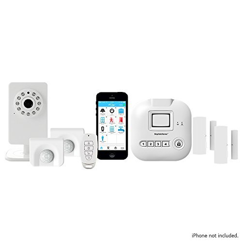 SkylinkNet Alarm System Starter Kit Plus - iOS & Android Smartphone compatible with Home Automation Security System - SK-250
