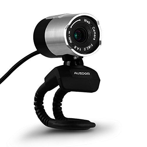USB Webcam, AUSDOM HD 1080P USB Webcam Portable Web cam Rota - Mac Webcam 1080