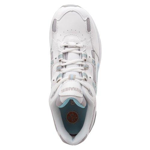 Orthaheel walkingschuhe pour femme multicolore 6 blanc/bleu