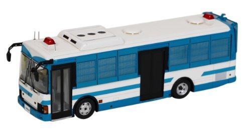 1/43 いすゞ エルガミオ バス 警察本部大型人員輸送車両 2007(ブルー×ホワイト) H7430713