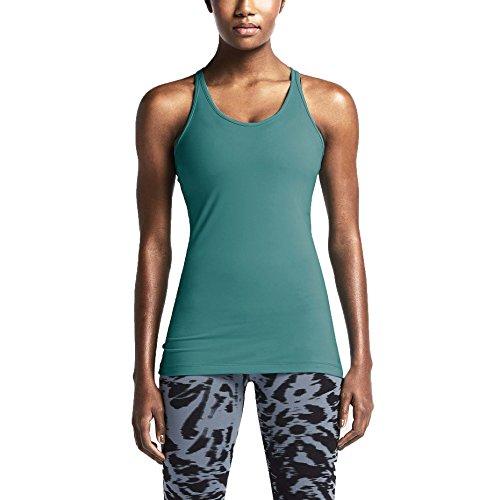 Nike Womens Get Fit Débardeur Dentraînement Rayonnante Émeraude