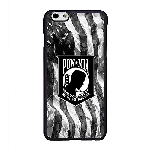 (FIDIKO Vietnam War POW MIA US Flag Rear case Compatible iPhone 6, Popular Hard Plastic Slim   Anti Slip Phone case Compatible iPhone 6 /)