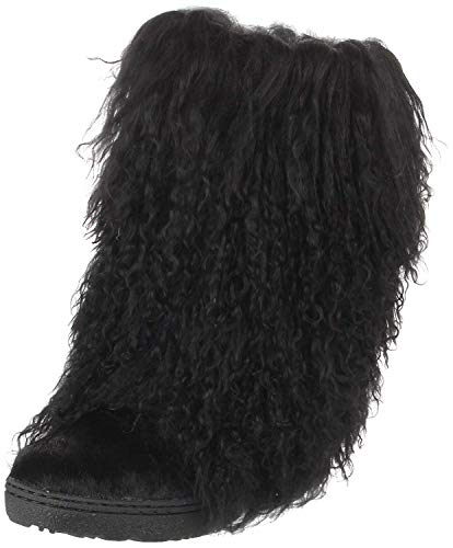 BEARPAW Women's Black Boetis II 6 B(M) US ()