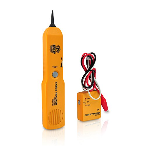 Pyle Home PHCT55 Telephone Wire Cable Tester for Testing Continuity with Sender And Receiver