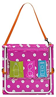 Three Cheers for Girls Lounge Chair Tote, Pink