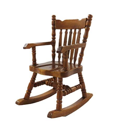 Dollhouse Miniature Rocking Chair for sale  Delivered anywhere in USA
