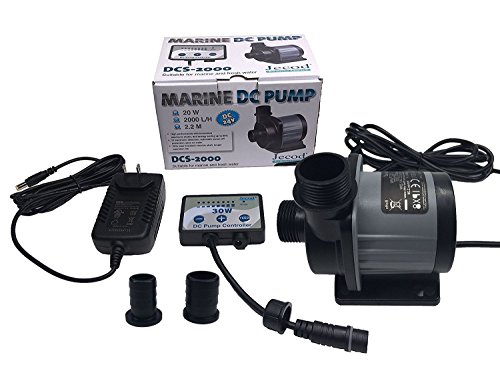 Jebao/Jecod DCS-2000 Nano DC Pump Adjustable Submersible Return Pump with Controller 520GPH