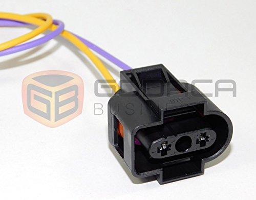 Connector for coolant tank reservoir sensor Vw Jetta golf 1J0 973 202 2-way