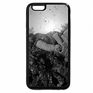 iPhone 6S Case, iPhone 6 Case (Black & White) - Incredible Underwater Coral Reef