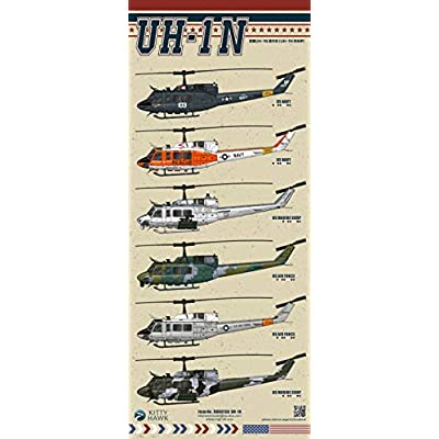 KH80158 1/48 Kitty Hawk UN-1N Model Building Kit, 2020 May Released: Toys & Games
