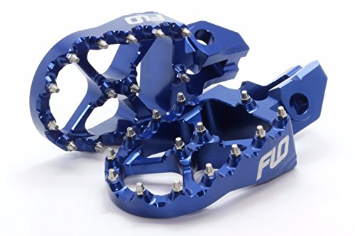 Ktm Foot Pegs Flo Motorsports for 2016 KTM Foot Pegs 125sx/150sx/ 250-450sx-f and Xc-f Blue fpeg-795-2blu by Flo Motorsports (Image #1)