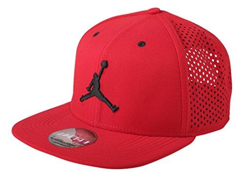 Nike Jordan Jumpman Performance Cap-642091 687-Red/blk